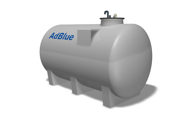 Deposito de adblue simple pared