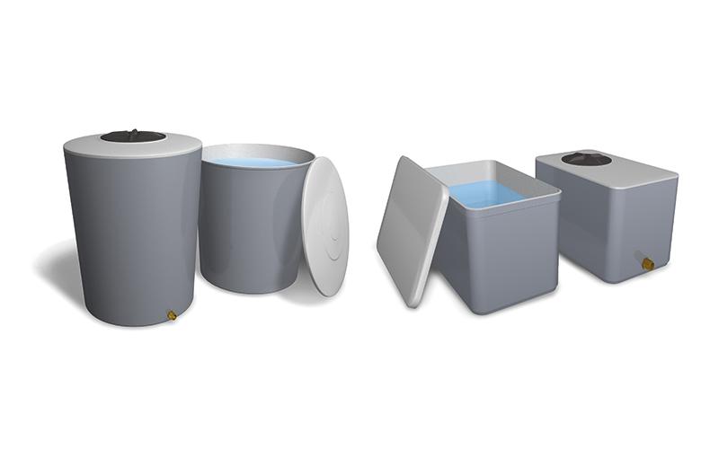 Depositos de agua - Deposito conicos rectangulares