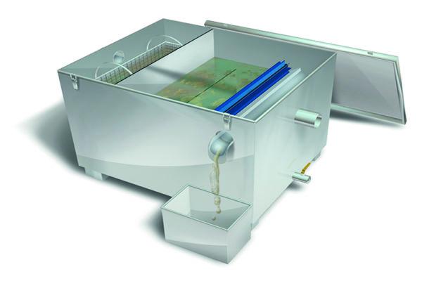 separador de grasas biogras inox automatico